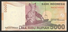 Money-Indonesian-5000Rupiah
